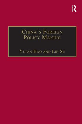 China's Foreign Policy Making: Societal Force and Chinese American Policy (Hardback) book cover