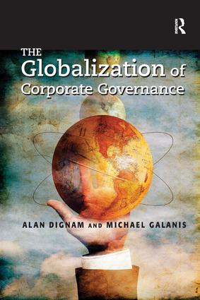The Globalization of Corporate Governance: 1st Edition (Paperback) book cover