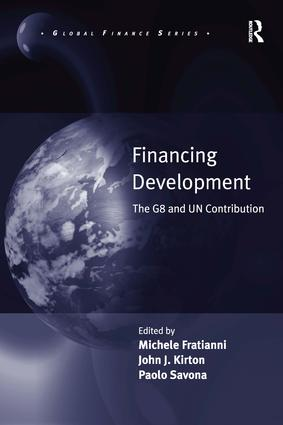 Financing Development: The G8 and UN Contribution book cover