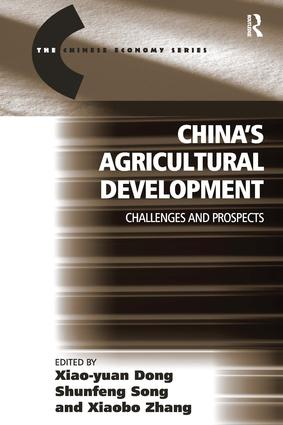 China's Agricultural Development: Challenges and Prospects book cover