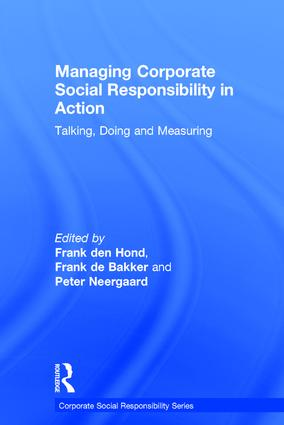 Managing Corporate Social Responsibility in Action: Talking, Doing and Measuring, 1st Edition (Hardback) book cover