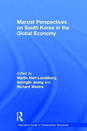Marxist Perspectives on South Korea in the Global Economy (Hardback) book cover