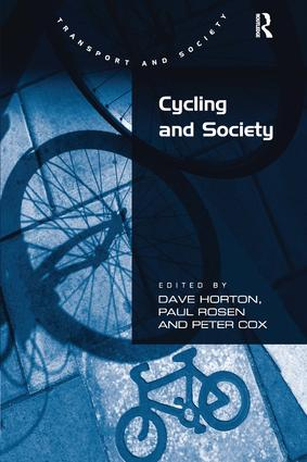 Cycling and Society (Hardback) book cover