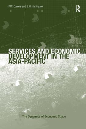 Services and Economic Development in the Asia-Pacific: 1st Edition (Hardback) book cover