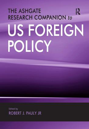 The Ashgate Research Companion to US Foreign Policy: 1st Edition (Hardback) book cover
