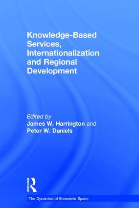 Knowledge-Based Services, Internationalization and Regional Development (Hardback) book cover