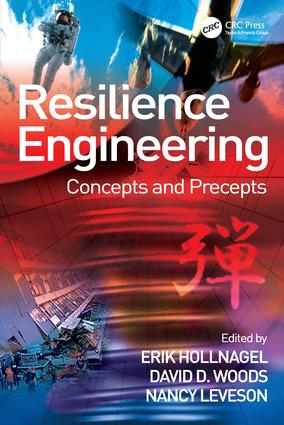 Resilience Engineering: Concepts and Precepts (Paperback) book cover
