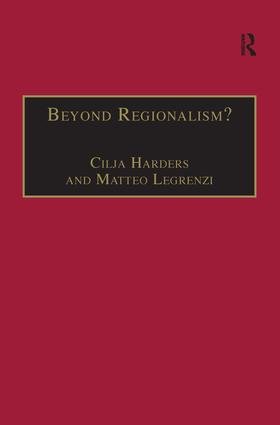 Beyond Regionalism?: Regional Cooperation, Regionalism and Regionalization in the Middle East, 1st Edition (Hardback) book cover