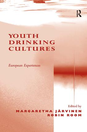 Youth Drinking Cultures: European Experiences book cover