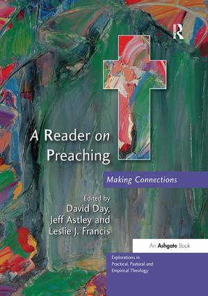 A Reader on Preaching: Making Connections, 1st Edition (Paperback) book cover