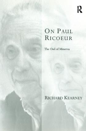On Paul Ricoeur: The Owl of Minerva book cover