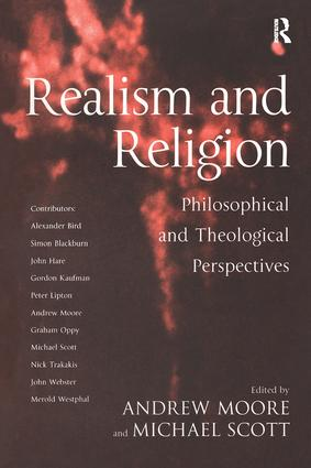 Realism and Religion: Philosophical and Theological Perspectives, 1st Edition (Paperback) book cover