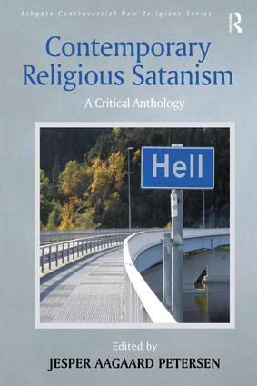 Contemporary Religious Satanism: A Critical Anthology book cover