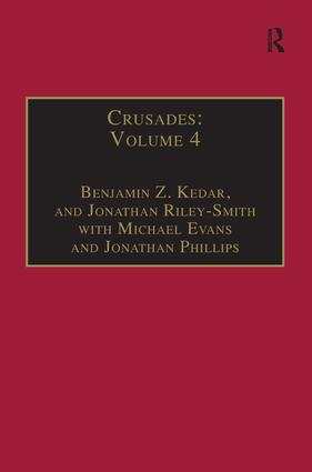 Crusades: Volume 4 book cover