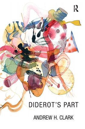Diderot's Part: 1st Edition (Hardback) book cover