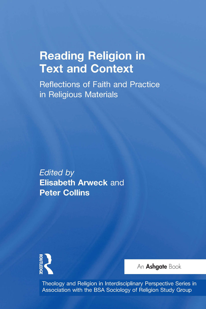Reading Religion in Text and Context: Reflections of Faith and Practice in Religious Materials, 1st Edition (Hardback) book cover