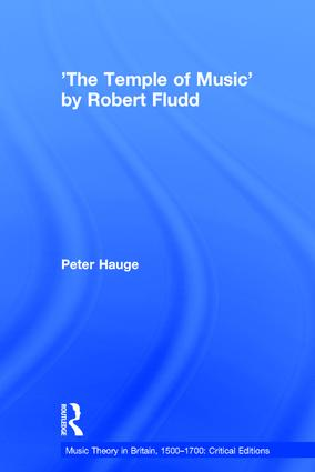 'The Temple of Music' by Robert Fludd: 1st Edition (Hardback) book cover