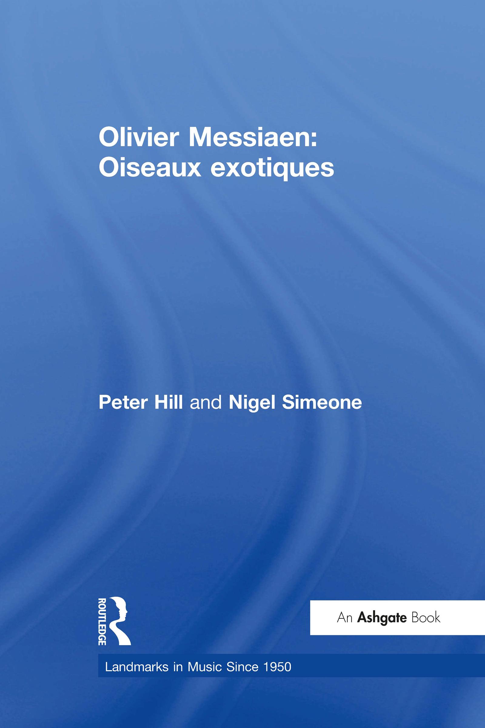 Olivier Messiaen: Oiseaux exotiques book cover