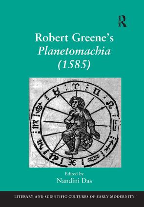 Robert Greene's Planetomachia (1585) book cover