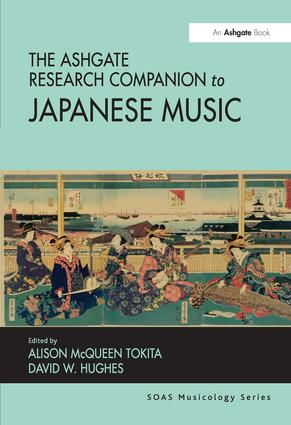 The Ashgate Research Companion to Japanese Music: 1st Edition (Hardback) book cover