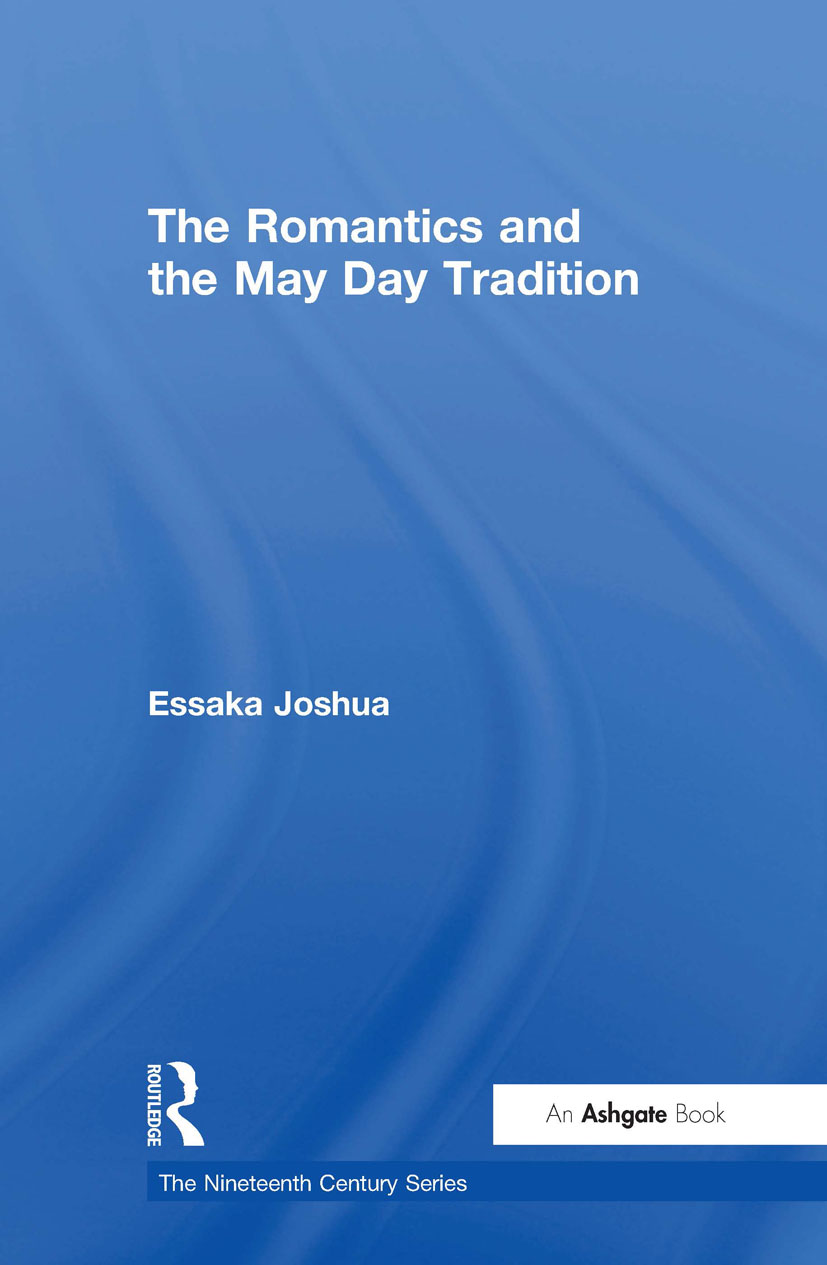 The Romantics and the May Day Tradition: 1st Edition (Hardback) book cover