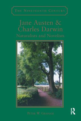 Jane Austen & Charles Darwin: Naturalists and Novelists (Hardback) book cover