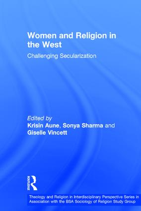 Women and Religion in the West: Challenging Secularization (Hardback) book cover
