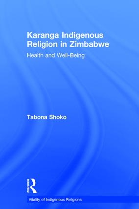 Karanga Indigenous Religion in Zimbabwe: Health and Well-Being book cover