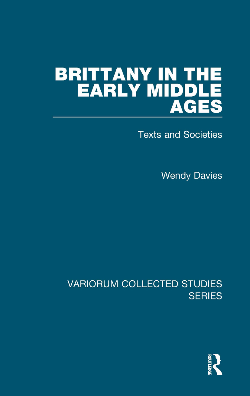 Brittany in the Early Middle Ages: Texts and Societies, 1st Edition (Hardback) book cover