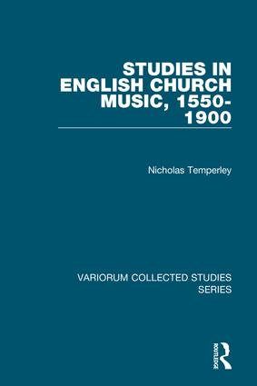 Studies in English Church Music, 1550-1900: 1st Edition (Hardback) book cover