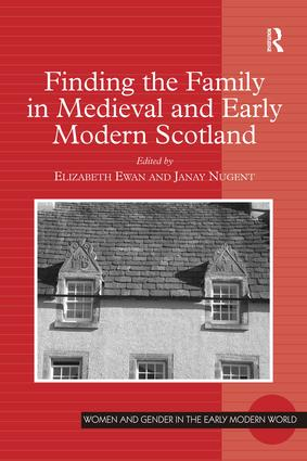 The Name of the Father: Baptism and the Social Construction of Fatherhood in Early Modern Edinburgh