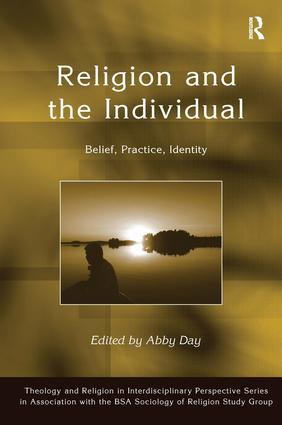 Religion and the Individual: Belief, Practice, Identity, 1st Edition (Hardback) book cover