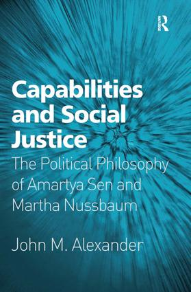 Capabilities and Social Justice