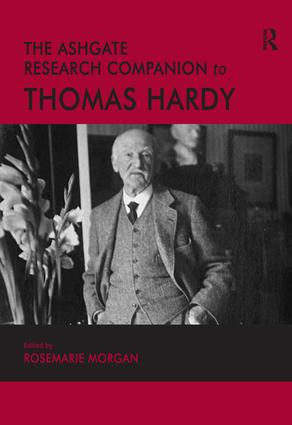 The Ashgate Research Companion to Thomas Hardy (Hardback) book cover