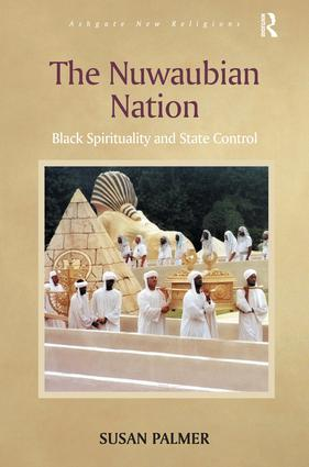 The Nuwaubian Nation: Black Spirituality and State Control (Hardback) book cover