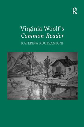 Virginia Woolf's Common Reader: 1st Edition (Hardback) book cover