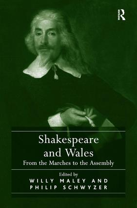 Shakespeare and Wales: From the Marches to the Assembly (Hardback) book cover