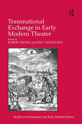 Transnational Exchange in Early Modern Theater book cover