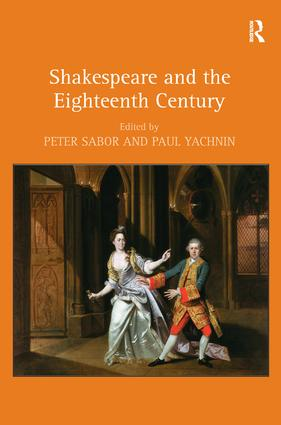 Shakespeare and the Eighteenth Century (Hardback) book cover