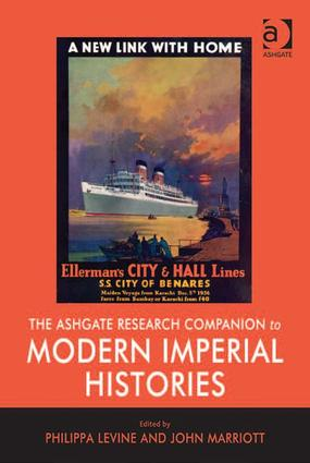 The Ashgate Research Companion to Modern Imperial Histories (Hardback) book cover