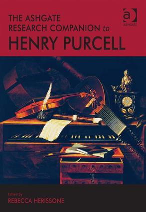 The Ashgate Research Companion to Henry Purcell (Hardback) book cover