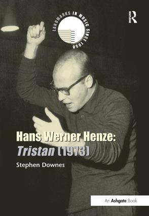 Hans Werner Henze: Tristan (1973) book cover