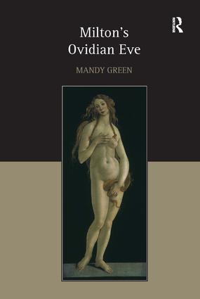 Milton's Ovidian Eve (Hardback) book cover