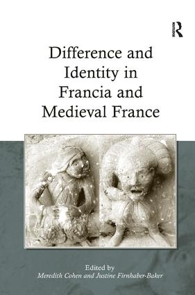 Difference and Identity in Francia and Medieval France (Hardback) book cover