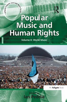 Popular Music and Human Rights: Volume II: World Music (Hardback) book cover