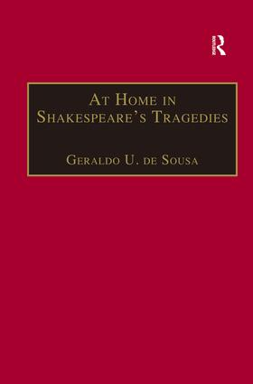At Home in Shakespeare's Tragedies (Hardback) book cover