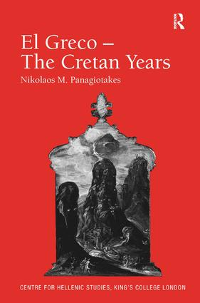 El Greco – The Cretan Years book cover