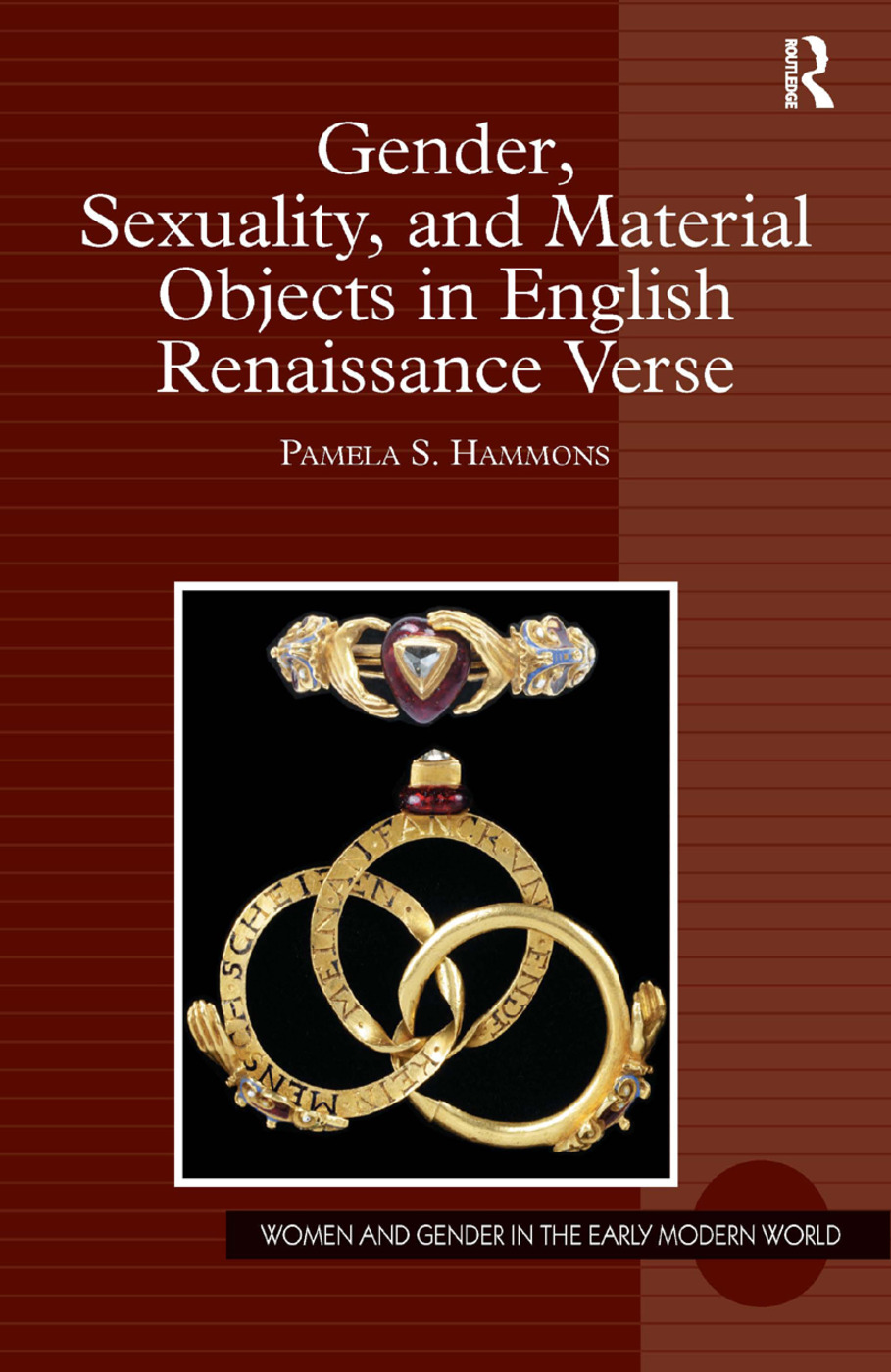 Gender, Sexuality, and Material Objects in English Renaissance Verse book cover
