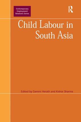 Child Labour in South Asia book cover