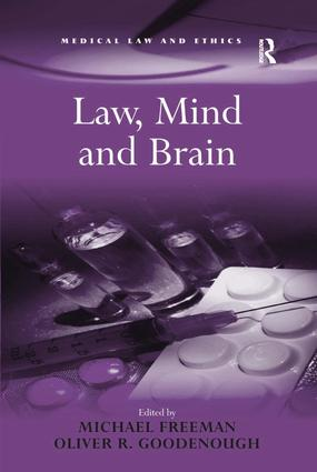 Law, Mind and Brain: 1st Edition (Hardback) book cover